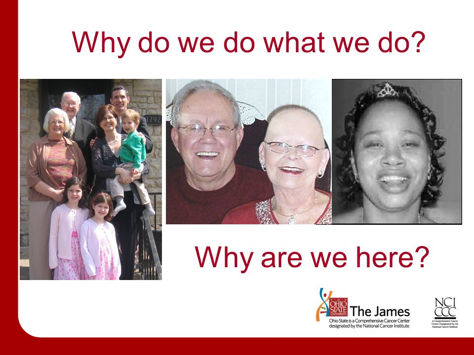 Why do we do what we do? Why are we here?