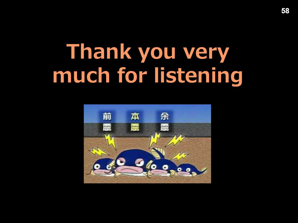 Thank you very much for listening 58