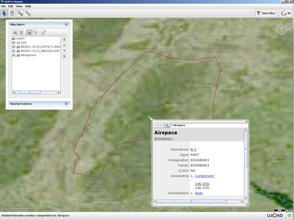 AIXM 4.5 to 5.1 Mapping 18 EAD AIXM 5.1 Airspace