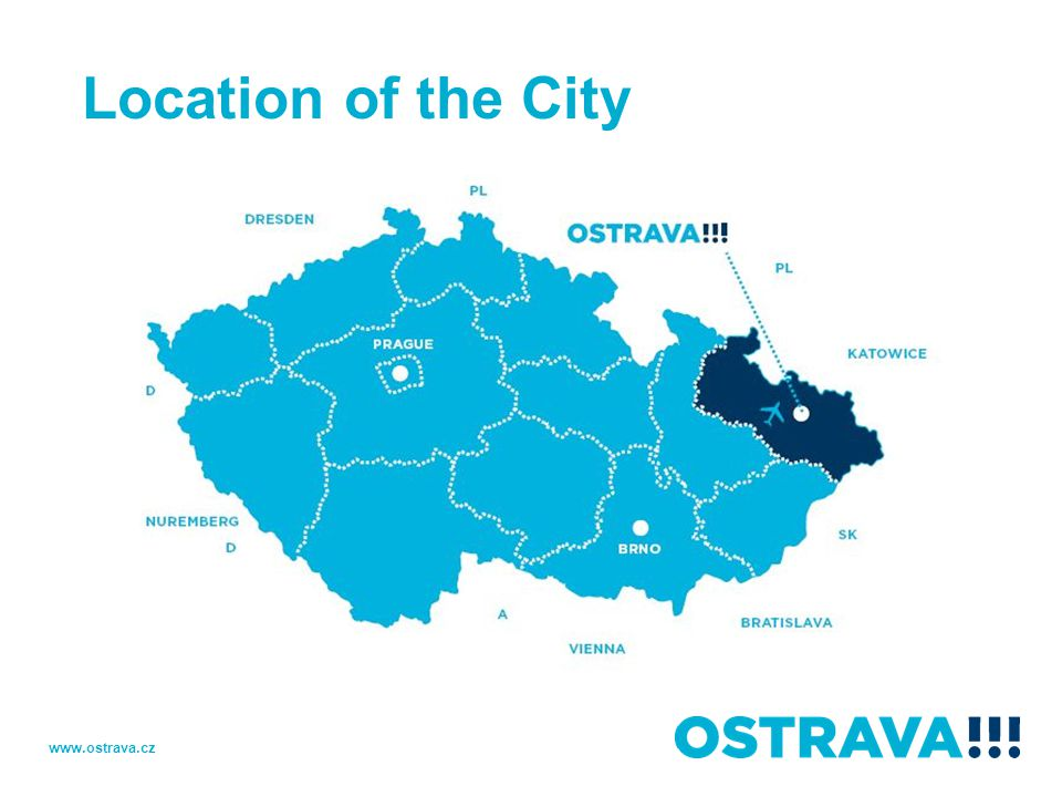 Location of the City www.ostrava.cz
