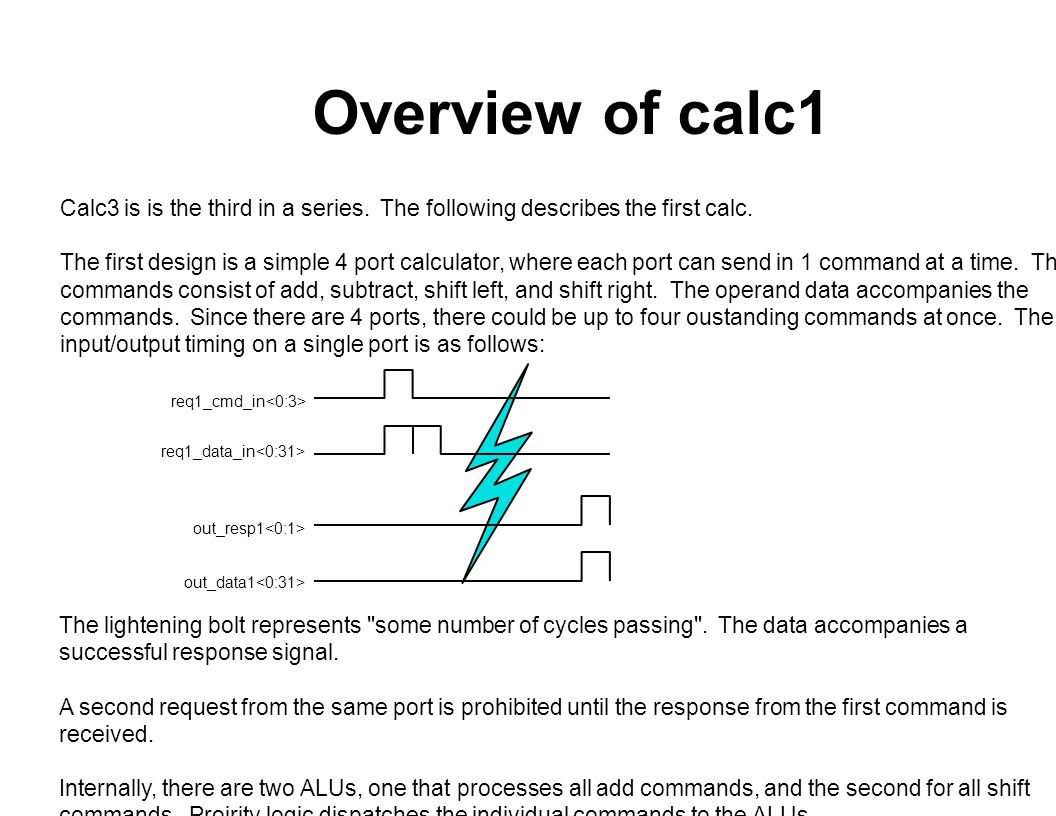 Overview of calc2 Calc3 is is the third in a series.