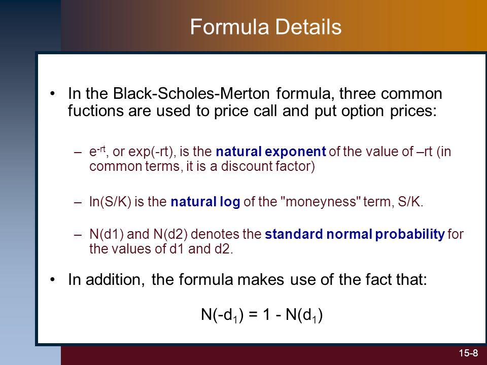 15-29 Example: Calculating Vega