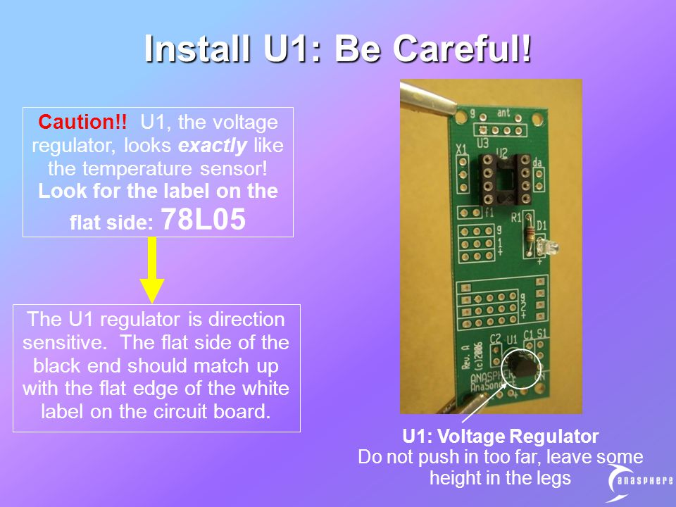 Install U1: Be Careful. Caution!.