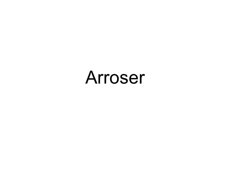 Arroser