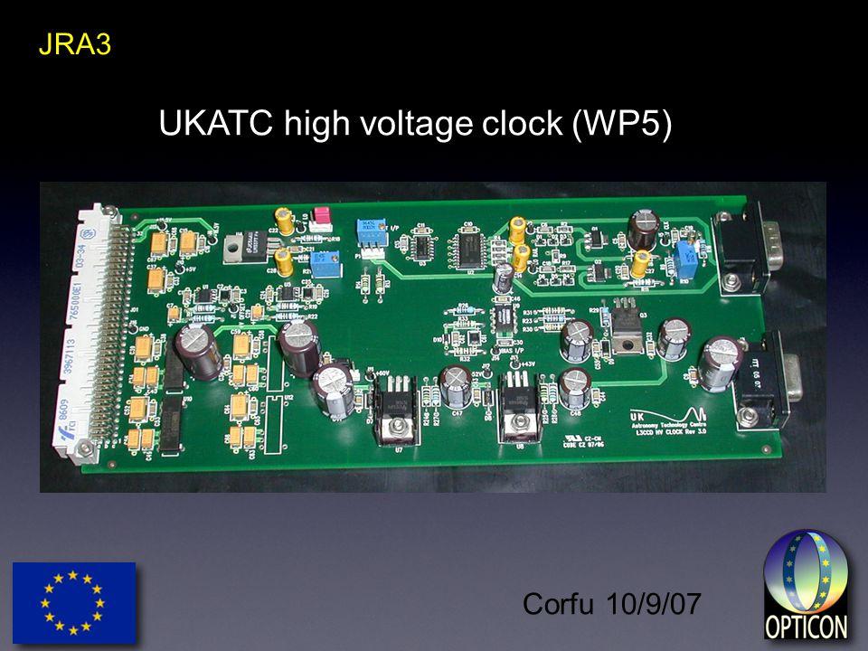 Corfu 10/9/07 JRA3 UKATC high voltage clock (WP5)