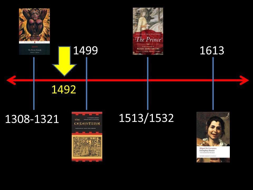 1499 1513/1532 1613 1308-1321 1492