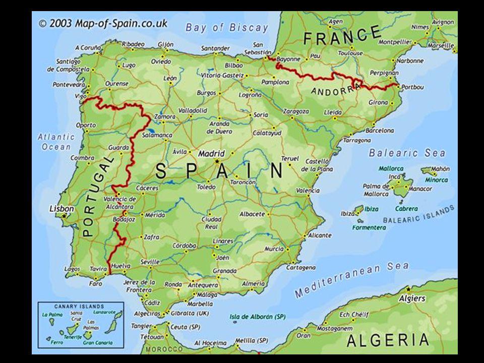 Fernando II de Aragón and Isabel II de Castilla The year 711 By 719 in the north
