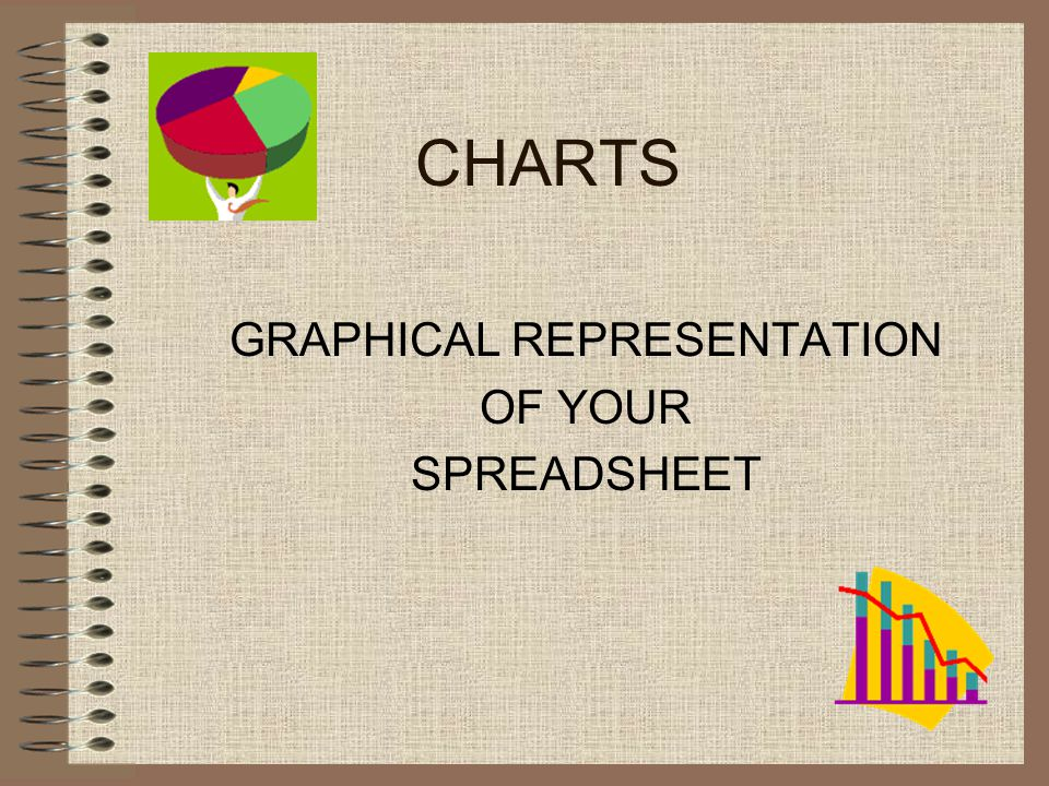 CHARTS GRAPHICAL REPRESENTATION OF YOUR SPREADSHEET