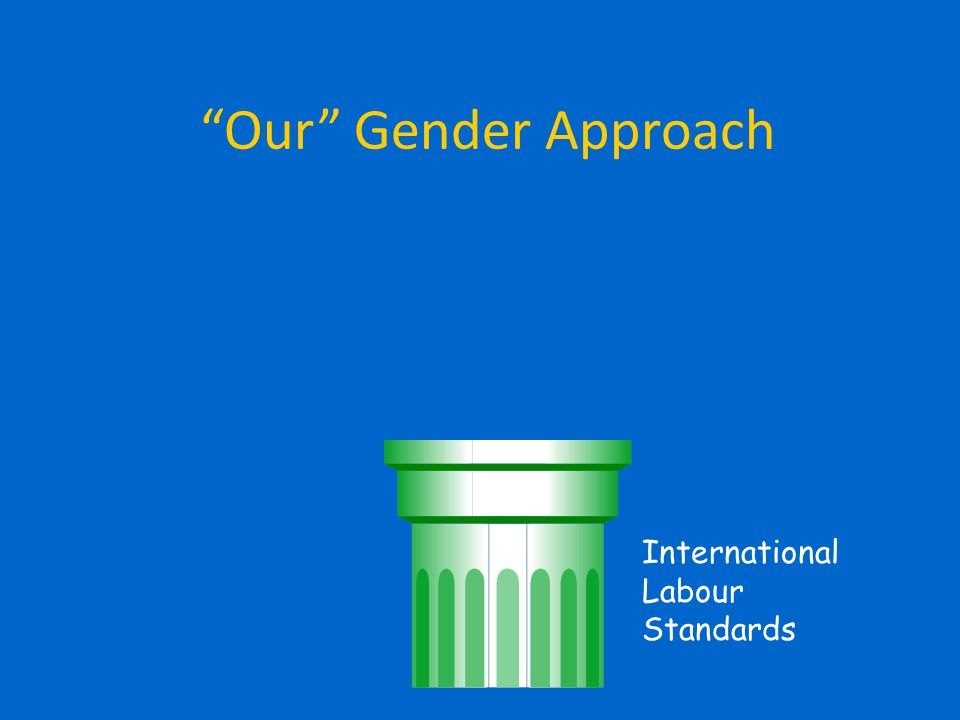 A NEW GENDER AGENDA In three group, critically discuss the hand-out (with particular reference to the last section A new gender agenda ) and answer to the following questions: a) Would the four proposed policy areas be applicable in your country.