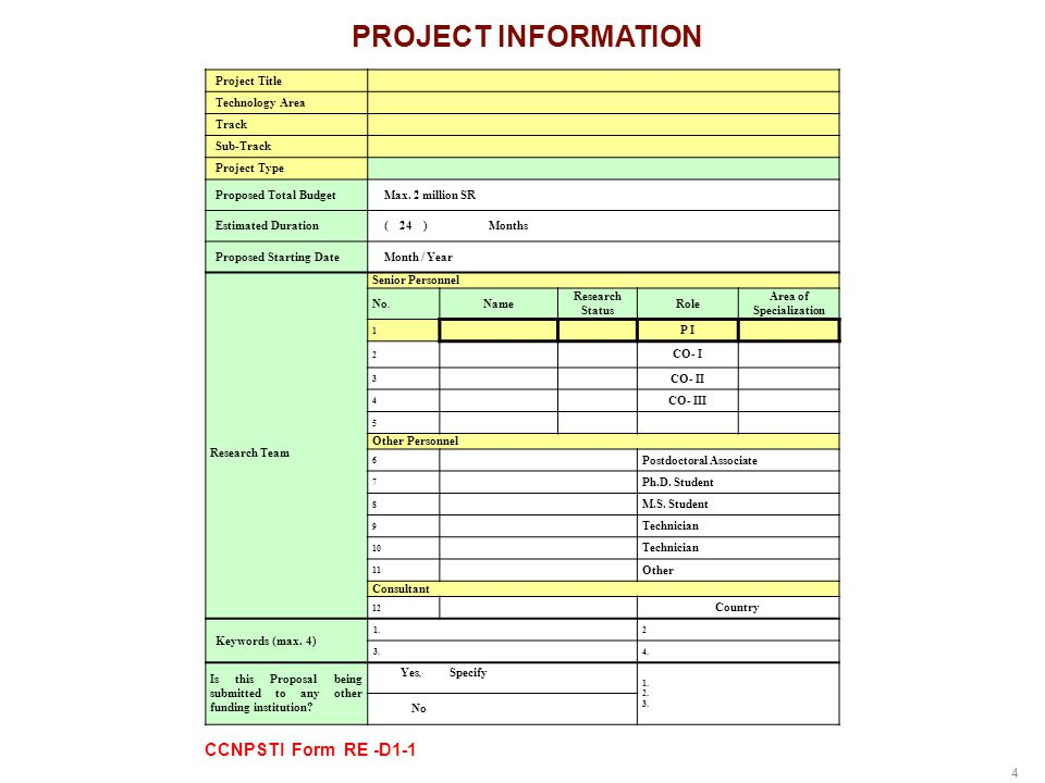 15 Funding and Follow-up  Financial Reports must highlight the following,  Incurred expenses  Time charged for all personnel on project  Funding is immediately amended if the project reports fail to reflect proposal plans