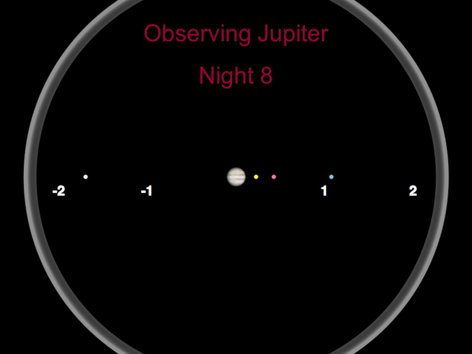 17 Observing Jupiter Night 8
