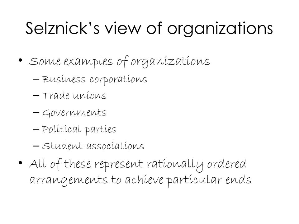 Individuals and organizations Individuals are supposed to play roles that help achieve these ends But they bring more that just roles to the organizations limiting the efficiency of the system.