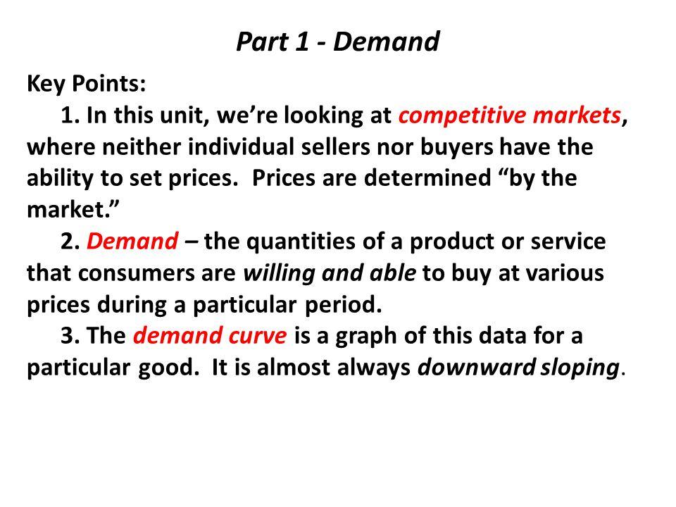 P Q 0 If demand goes down, what happens to price and quantity? S D P1 Q1 D2 P2 Q2