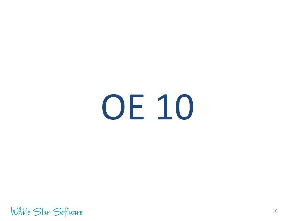 10 OE 10