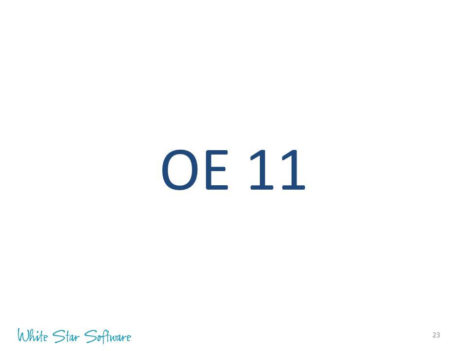 23 OE 11