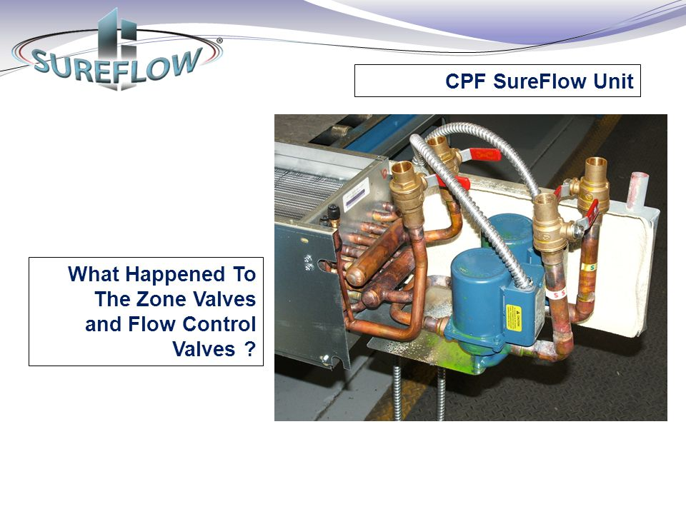 CPF SureFlow Unit What Happened To The Zone Valves and Flow Control Valves ?