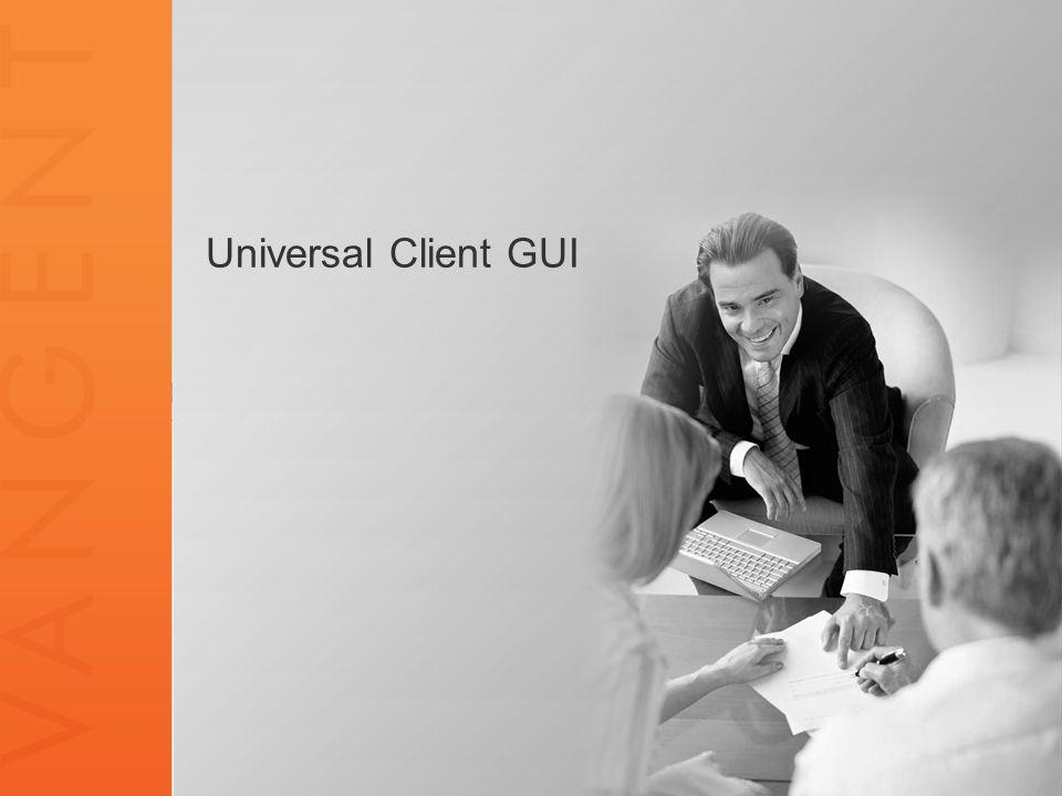 Universal Client GUI