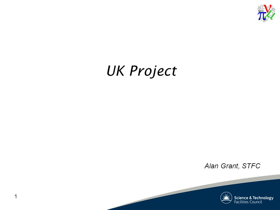 1 UK Project Alan Grant, STFC