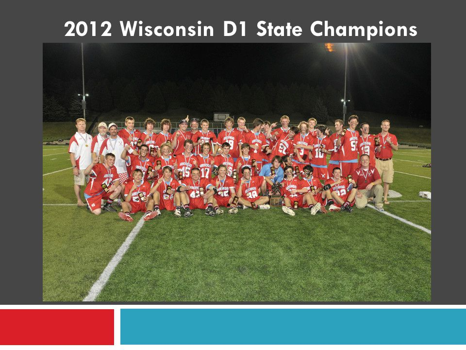 2012 Wisconsin D1 State Champions