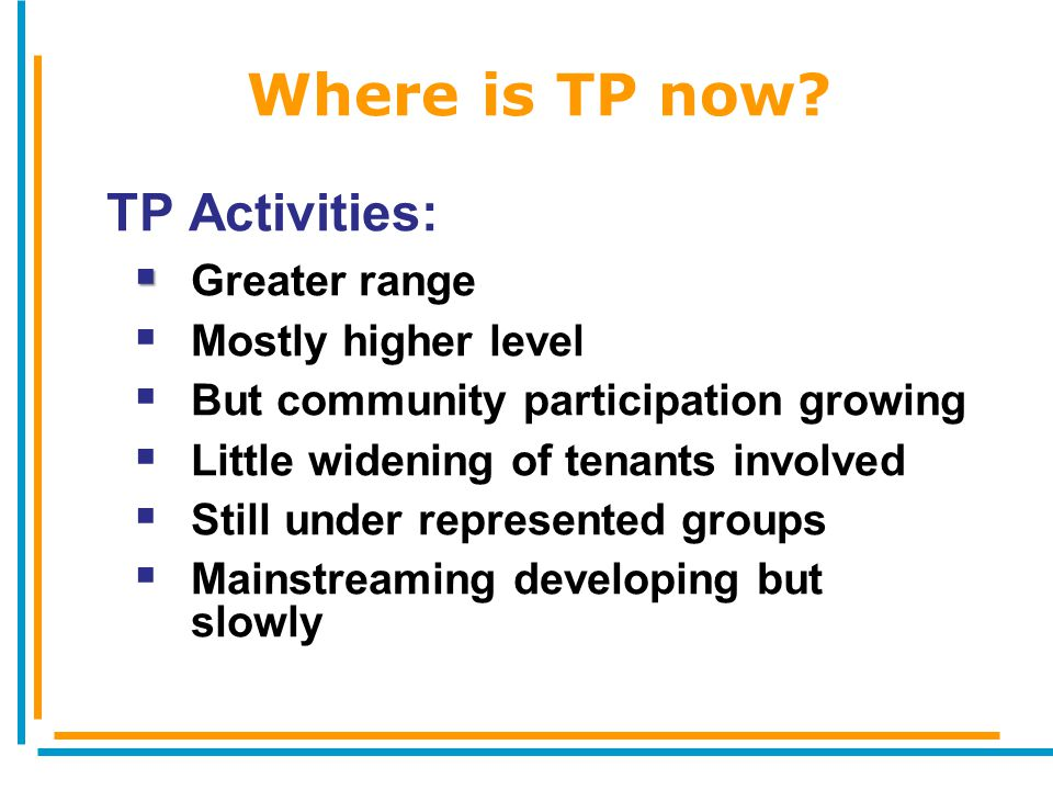 Where is TP now.