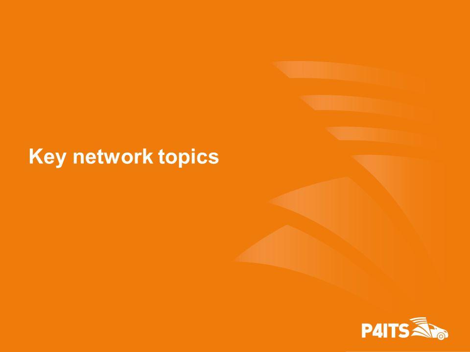 Key network topics