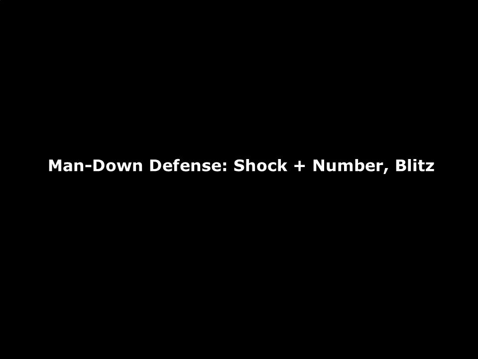 Blitz + Number: Execution Blitz + Number starts in a 55 and plays according to the rules of that defense.