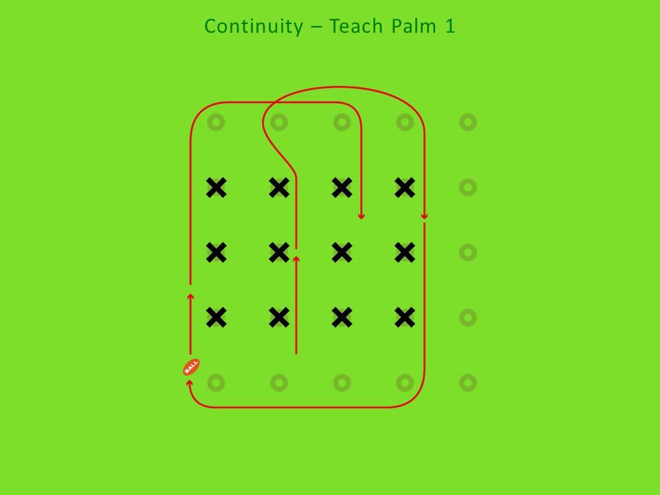 Continuity – Teach Palm 2