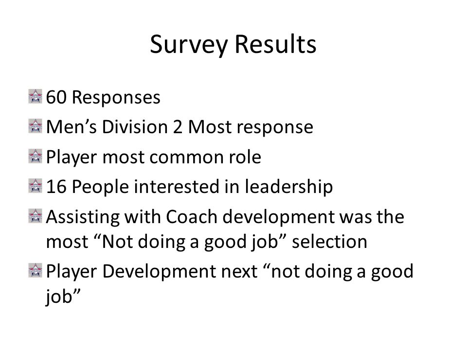 Survey Result Continued Most selected initiatives you'd like to see implemented a.