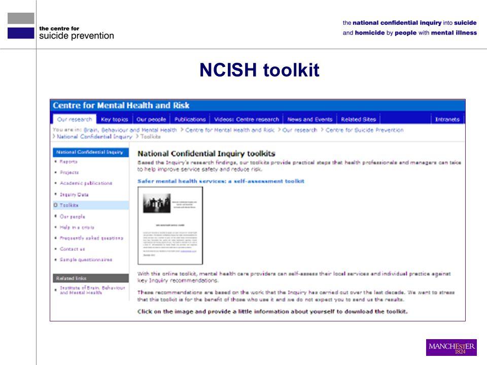 NCISH toolkit