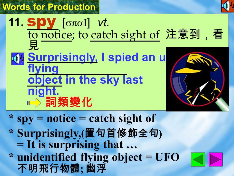 Words for Production 10. juicy [ `dZusI ] adj.