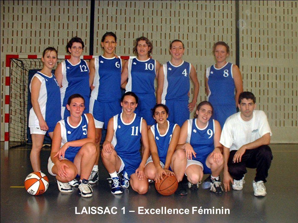 LAISSAC 1 – Excellence Féminin