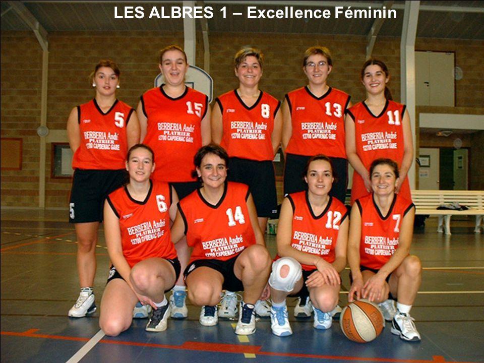 LES ALBRES 1 – Excellence Féminin