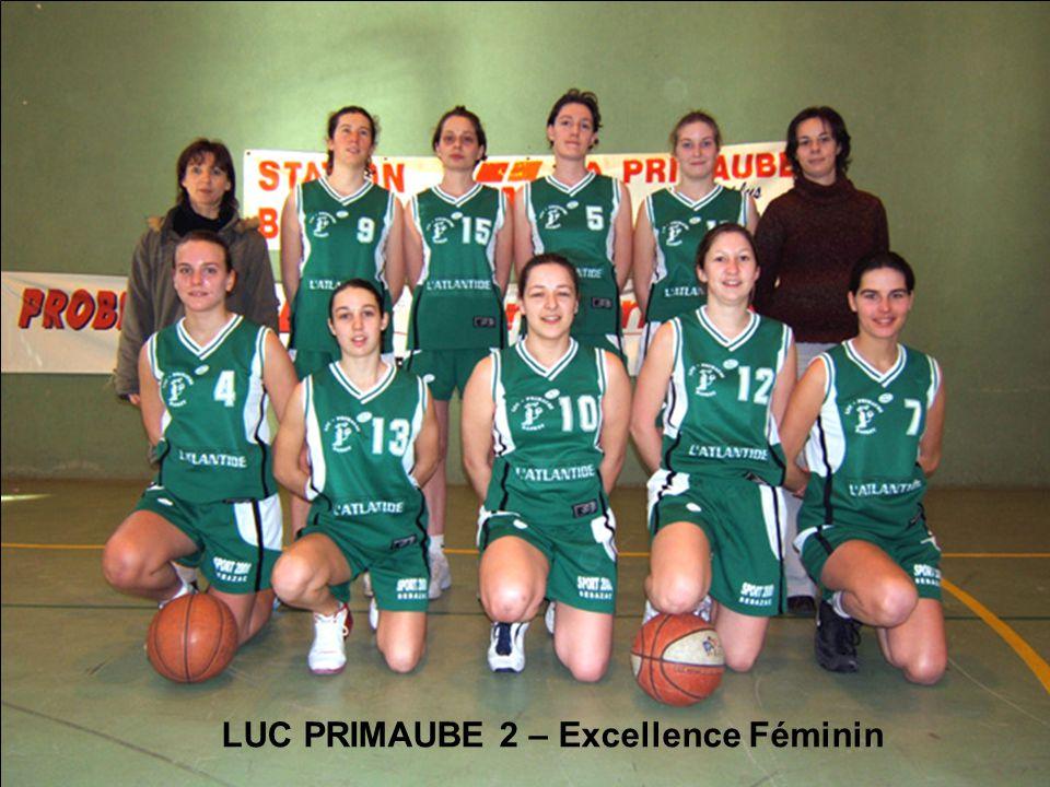LUC PRIMAUBE 2 – Excellence Féminin