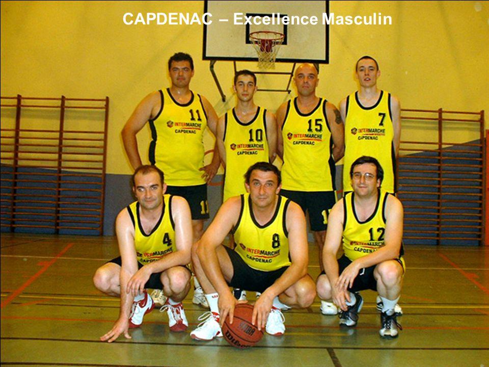 CAPDENAC – Excellence Masculin