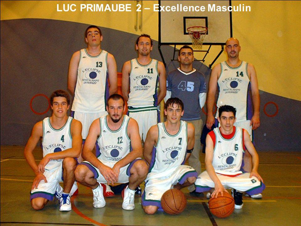 LUC PRIMAUBE 2 – Excellence Masculin