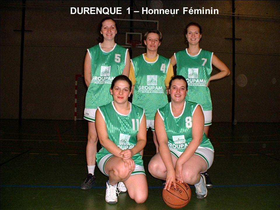 DURENQUE 1 – Honneur Féminin