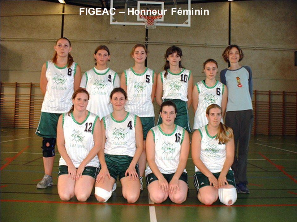 FIGEAC – Honneur Féminin