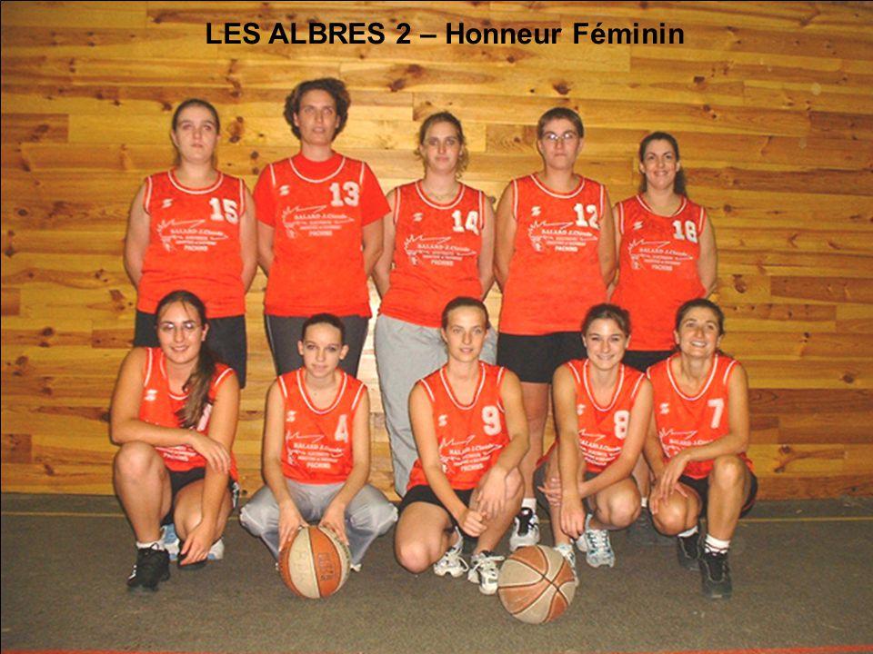 LES ALBRES 2 – Honneur Féminin