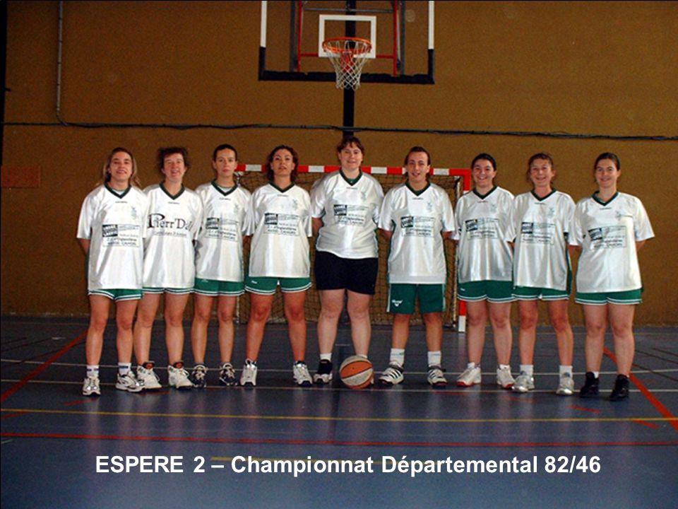 ESPERE 2 – Championnat Départemental 82/46