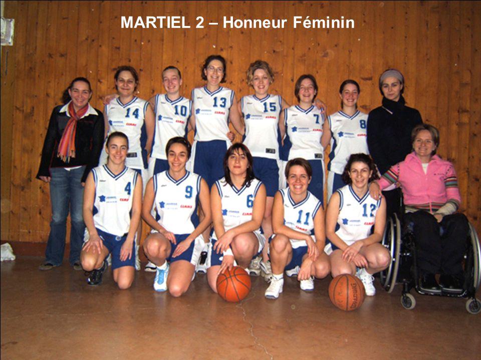 MARTIEL 2 – Honneur Féminin