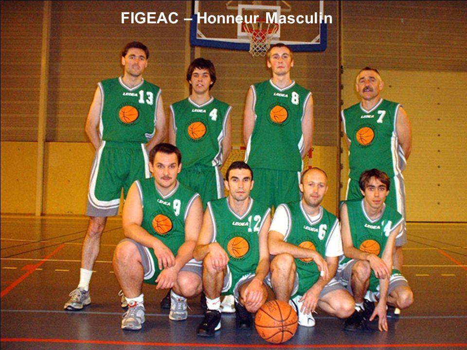 FIGEAC – Honneur Masculin