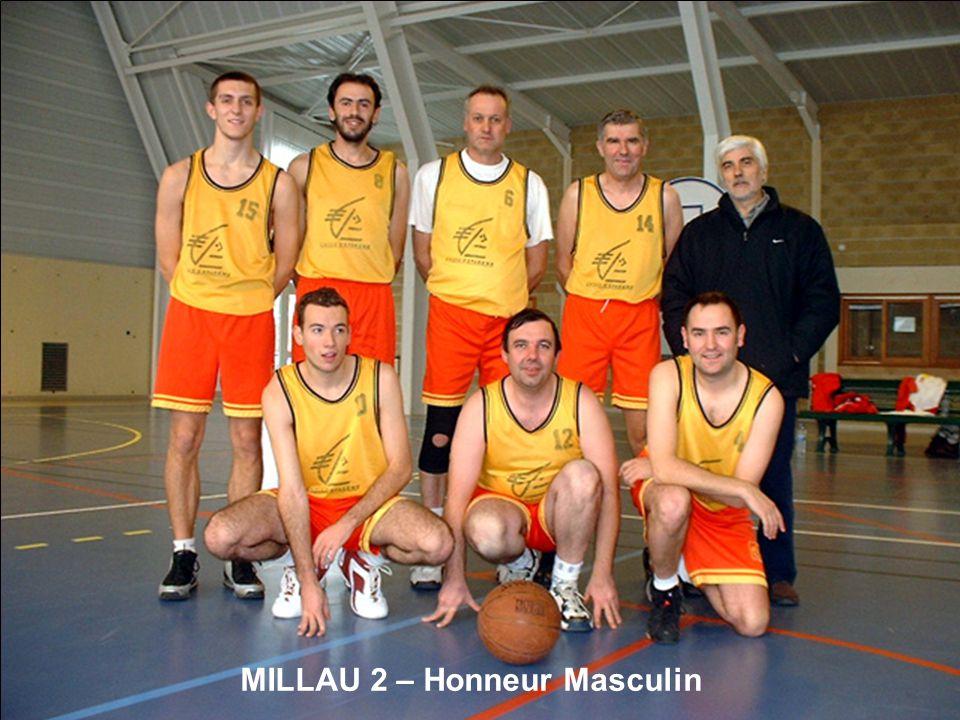 MILLAU 2 – Honneur Masculin