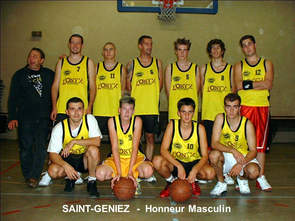 SAINT-GENIEZ - Honneur Masculin