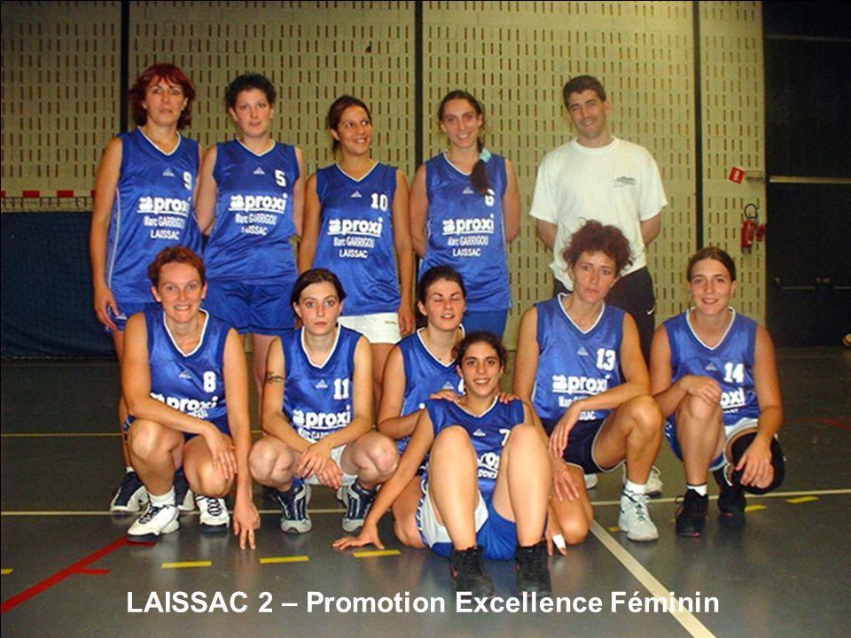 LAISSAC 2 – Promotion Excellence Féminin