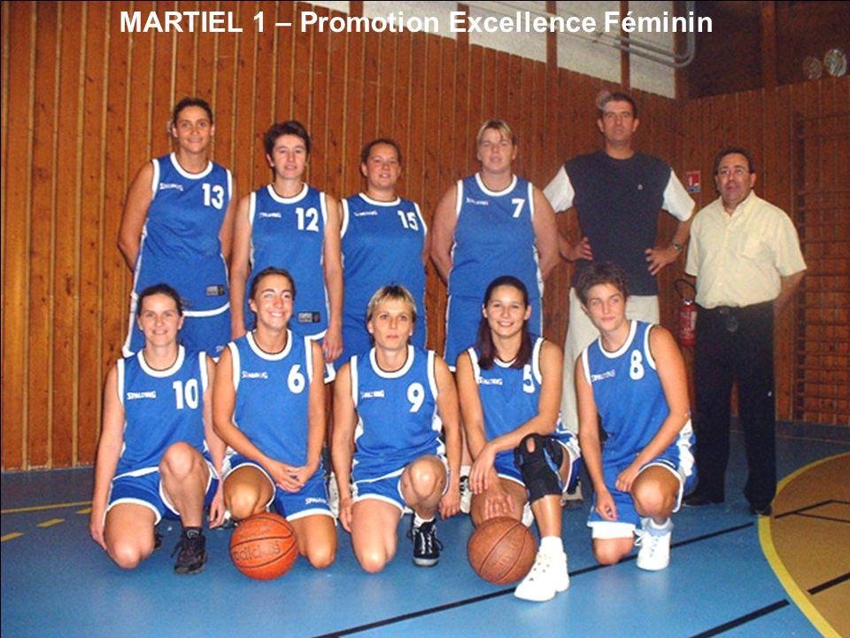 MARTIEL 1 – Promotion Excellence Féminin
