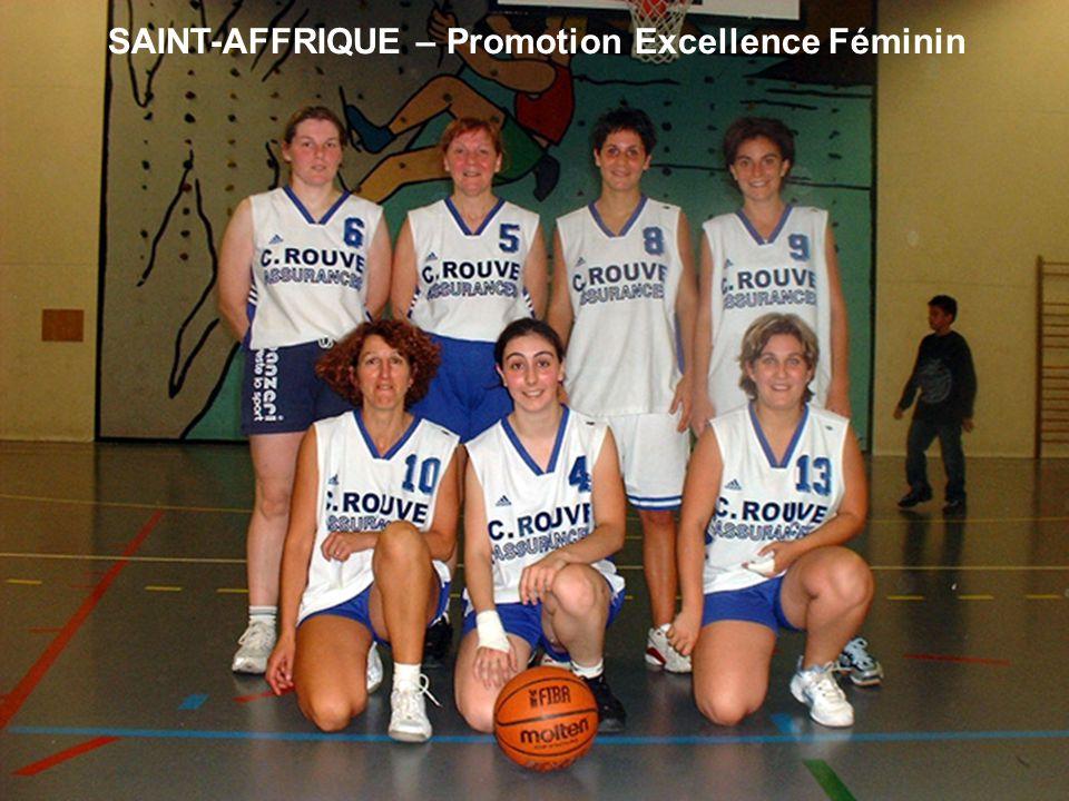 SAINT-AFFRIQUE – Promotion Excellence Féminin