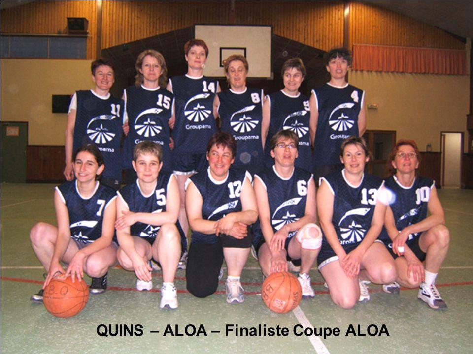 QUINS – ALOA – Finaliste Coupe ALOA