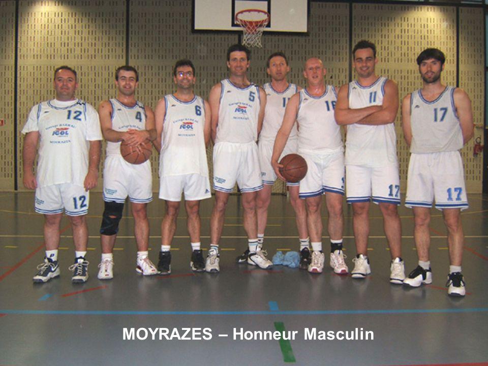 MOYRAZES – Honneur Masculin