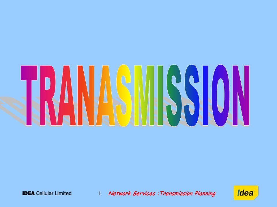 Network Services :Transmission Planning 32