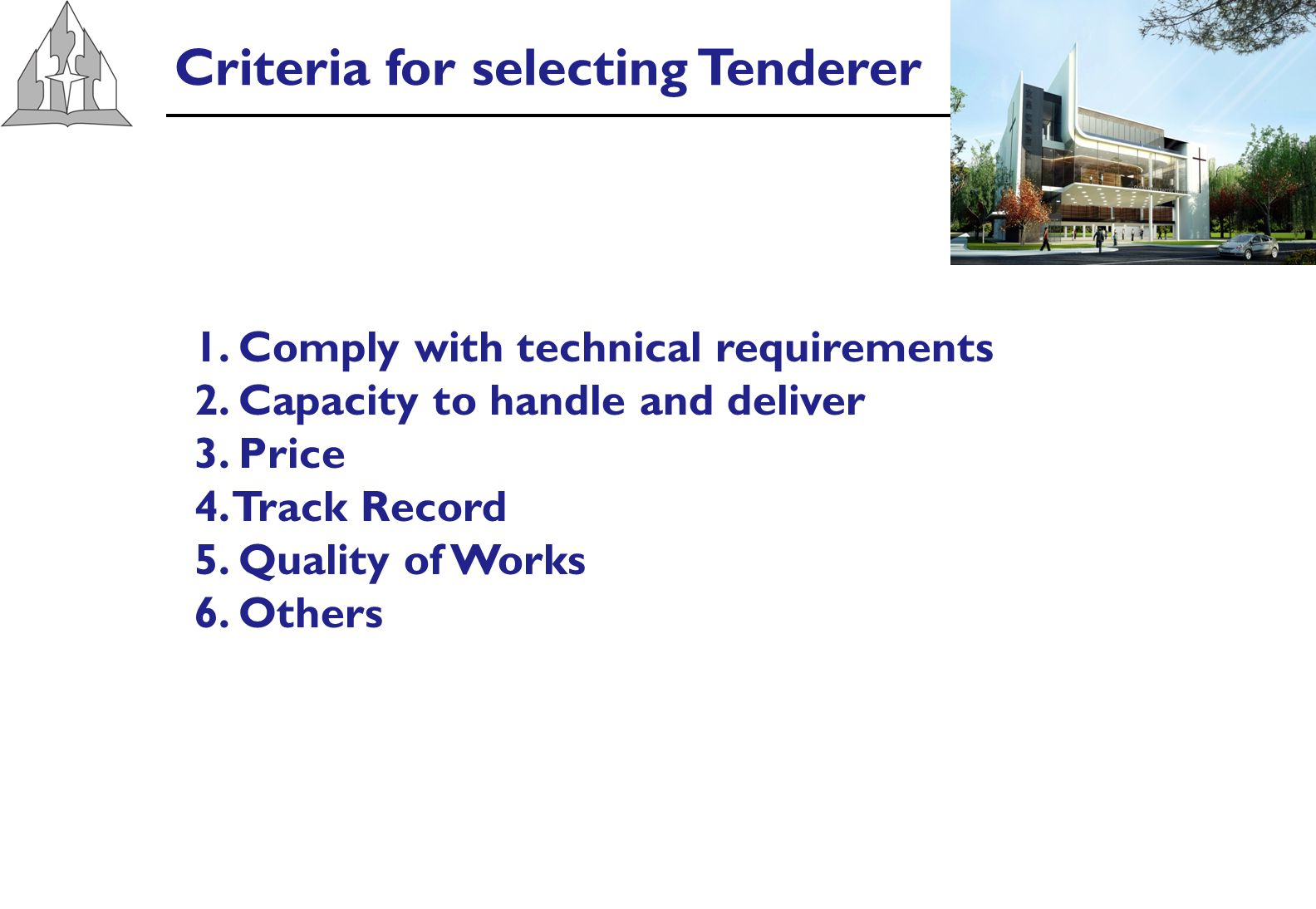 Summary of Tender Prices (A)Builders Company1st RdFinal Rd Difference fr 1st Rd % Less fr 1 st Rd % Difference of lowest 1Company A1 $ 7,820,000 $ 7,480,000-$ 340,000-4.3%0.0% 2Company A2 $ 8,196,563 $ 7,650,000-$ 546,563-6.7%2.9% 3Hong Kiat Construction $ 8,876,272 $ 7,845,676-$ 1,030,596-11.6%4.9% 4Capstone Construction $ 8,890,000 Not Invited 18.9% 5Chong Tong Construction $ 8,970,000 $ 8,460,000-$ 510,000-5.7%13.1% 6 Array Engineering & Construction $ 9,130,100 Not Invited 22.1% Note:Above tender include provision sum of $2.943mil for M&E, sound system, joinery All Prices exclude GST